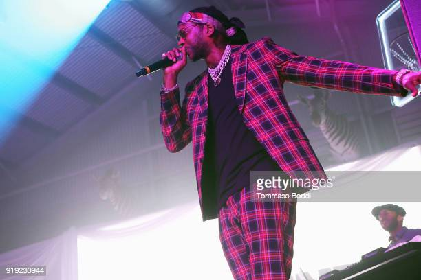 Rapper 2 Chainz attends the Def Jam Celebrates NBA All Star Weekend at Milk Studios in Hollywood With Performances by 2 Chainz Fabolous Jadakiss...