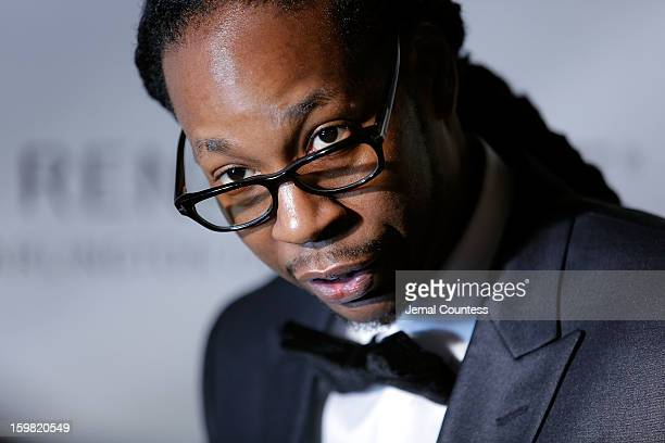 Rapper 2 Chainz attends The HipHop Inaugural Ball II at Harman Center for the Arts on January 20 2013 in Washington DC
