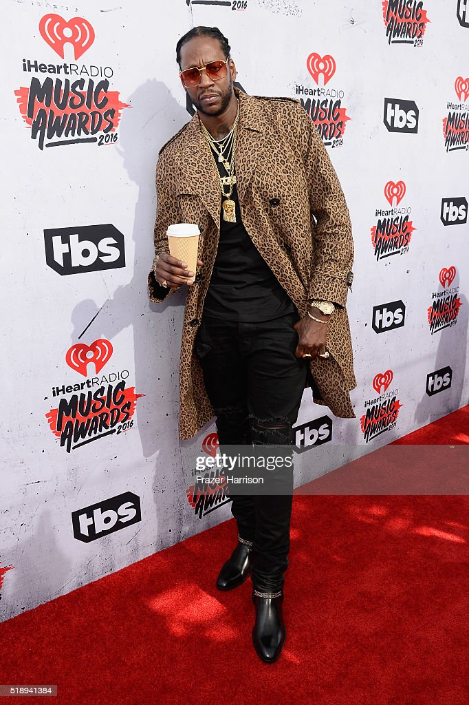 Rapper 2 Chainz attends the iHeartRadio Music Awards at The