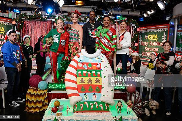 Rapper 2 Chainz hosts the annual GMA Ugly Sweater Contest, on GOOD MORNING AMERICA, 12/17/15, airing on the Walt Disney Television via Getty Images...