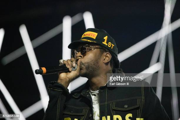 Rapper 2 Chainz performs at ComplexCon 2017 on November 5 2017 in Long Beach California
