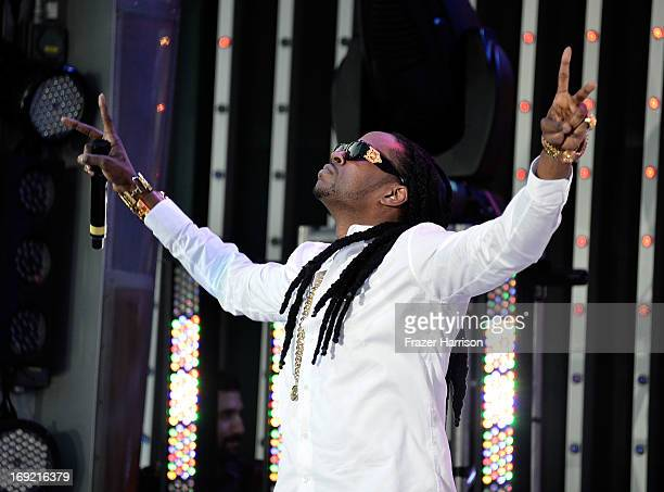Rapper 2 Chainz performs at the Premiere Of Universal Pictures' 'Fast Furious 6' on May 21 2013 in Universal City California
