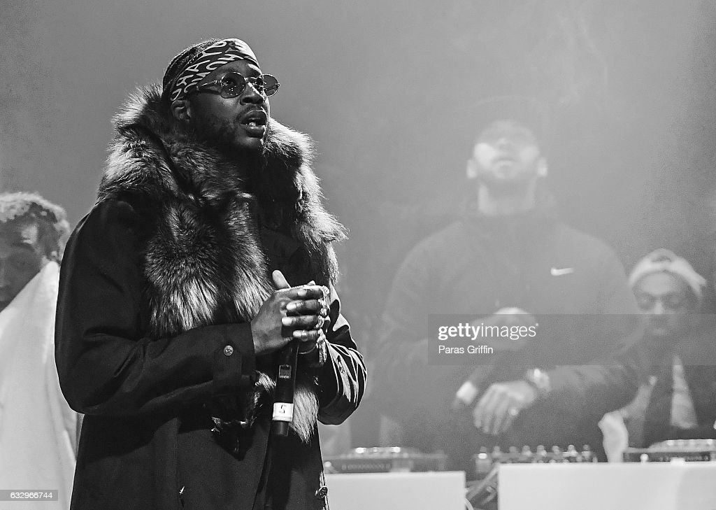 Rapper 2 Chainz performs onstage at Puma & Hot 107.9 presents Migos 'Culture' Album Release concert at Center Stage on January 28, 2017 in Atlanta, Georgia.