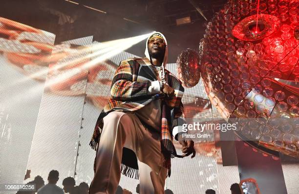 Rapper 2 Chainz performs onstage during Lil Baby Friends concert to promote the new release of Lil Baby's new album Street Gossip at CocaCola Roxy on...
