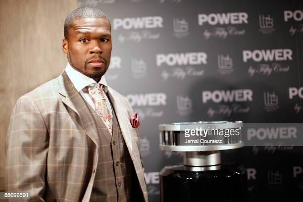 ACCESS *** Rapper 50 Cent aka Curtis Jackson attends the debut of the new Power By 50 Cent fragrance at Avenue on June 23 2009 in New York City