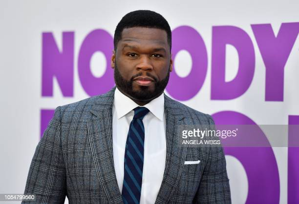 US rapper 50 Cent attends the New York premiere of Nobody's Fool at AMC Lincoln Square Theater on October 28 2018 in New York City