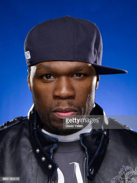 Rapper 50 Cent is photographed for Billboard Magazine in 2009