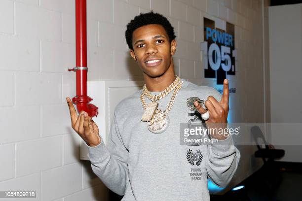 Rapper A Boogie wit da Hoodie attends Power 1051's Powerhouse 2018 at Prudential Center on October 28 2018 in Newark New Jersey