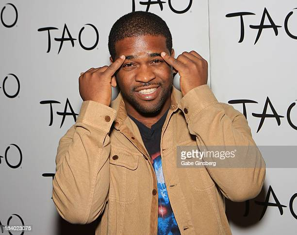 Rapper A$AP Ferg arrives at 'Worship Thursday' at the Tao Nightclub at The Venetian Las Vegas on October 10 2013 in Las Vegas Nevada