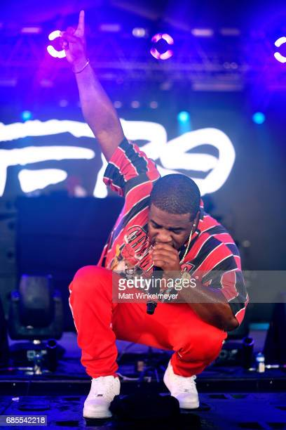 Rapper A$AP Ferg performs at the Boom Boom Tent during 2017 Hangout Music Festival on May 19 2017 in Gulf Shores Alabama