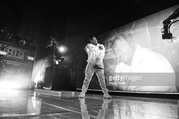 Rapper A$AP Ferg performs onstage during 'FERG presents Mad Man' tour at The Tabernacle on March 7 2018 in Atlanta Georgia