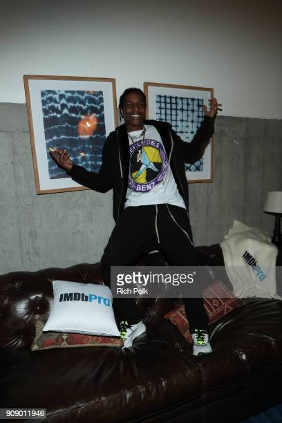 Rapper A$AP Rocky attends The IMDbPro Party to Celebrate the Premiere of 'The Miseducation of Cameron Post' and Launch of IMDbPro's New iPhone App on...