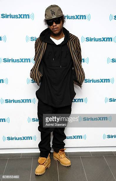 Rapper AbSoul visits the SiriusXM Studios on December 8 2016 in New York City