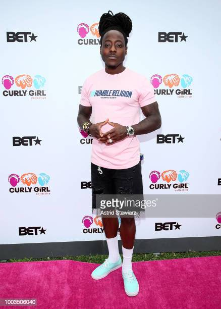 Rapper Ace Hood attends Curlfest 2018 at Prospect Park on July 21 2018 in New York City