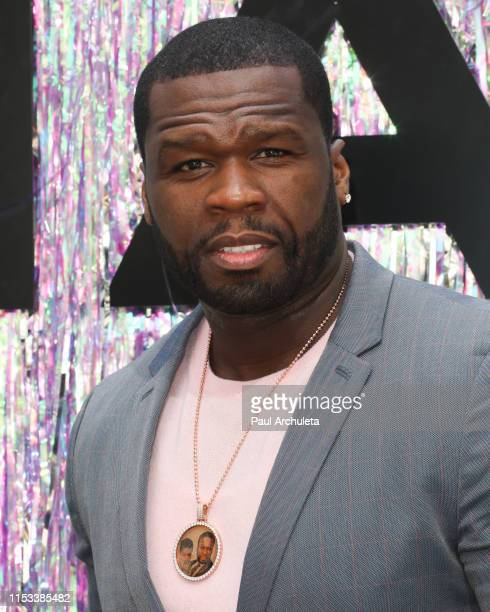 Rapper / Actor 50 Cent attends the Starz FYC Day at The Atrium at Westfield Century City on June 02 2019 in Los Angeles California