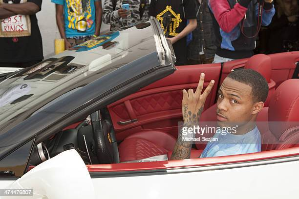 Rapper actor and television host Shad Gregory Moss AKA Bow Wow Last Kings Grand Opening Los Angeles on February 22 2014 in Los Angeles California