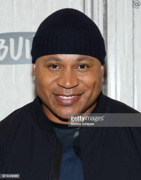 Rapper actor and TV personality LL Cool J attends Build Series Presents LL Cool J Discussing 'NCIS Los Angeles' 'Lip Sync Battle' at Build Studio on...