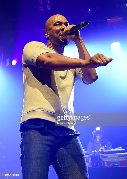 Rapper actor Common perorms at Bing Concert during Advertising Week New York 2016 on September 28 2016 in New York City