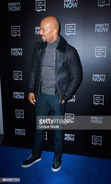 Rapper actor film producer Common attends ATT Hello Lab's Mentorship Program Debuts Five Short Films at Hammer Museum on December 1 2017 in Los...