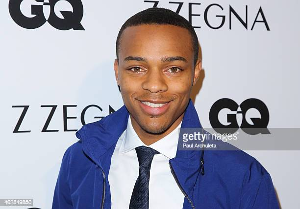 Rapper / Actor Shad Gregory Moss attends the GQ and Z Zegna celebration on February 5 2015 in West Hollywood California