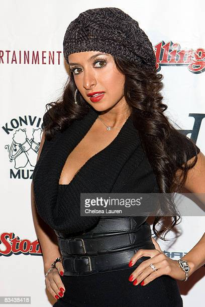 Rapper / actress Shakur arrives at Detail Ashanti and Keyisha Cole's Birthday Celebration at Area on October 13 2008 in Beverly Hills California