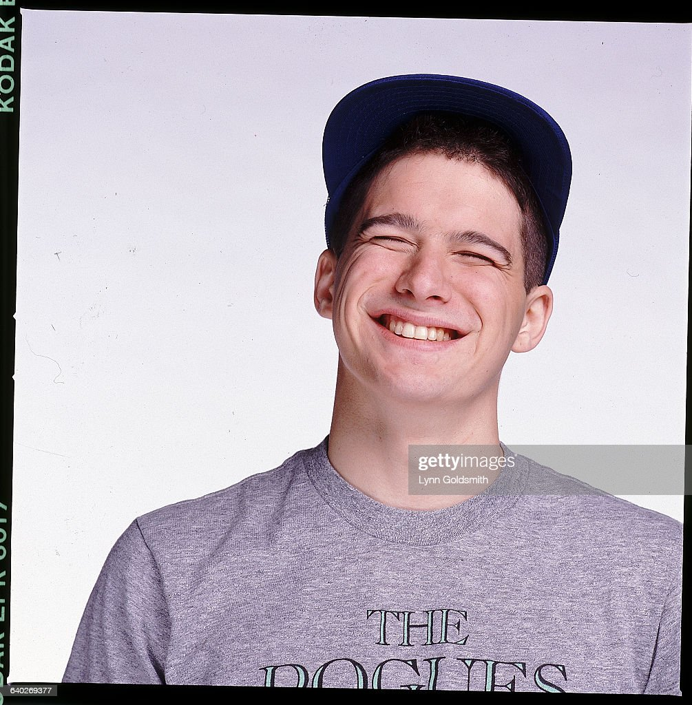 Rapper Ad-Rock, Adam Horovitz of the Beastie Boys, wearing a t-shirt for The Pogues.