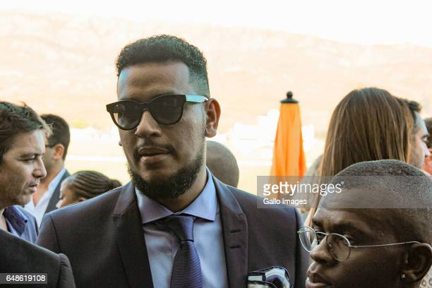 Rapper AKA during the 2017 Veuve Clicquot Masters Polo at the Val de Vie Estate on March 04 2017 in Cape Town South Africa The popular polo and...