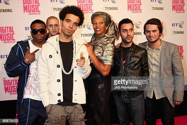 Rapper Akala and guests attends the BT Digital Music Awards 2008 held at The Roundhouse on October 1 2008 in London England