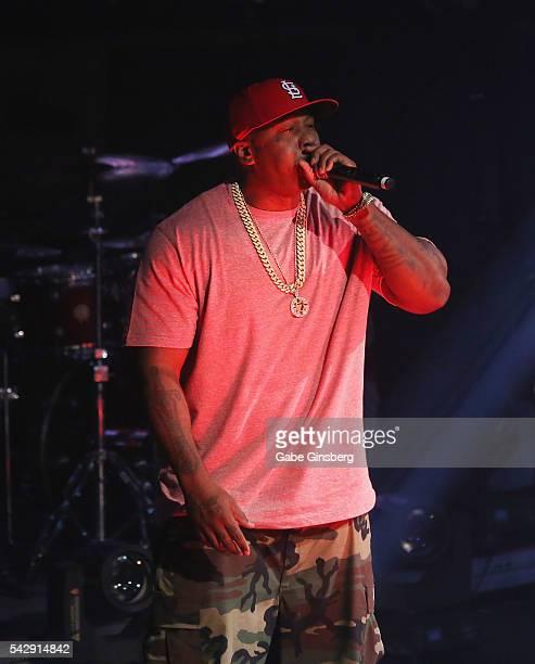 Rapper Ali of St. Lunatics performs at Drai's Beach Club - Nightclub at The Cromwell Las Vegas on June 25, 2016 in Las Vegas, Nevada.