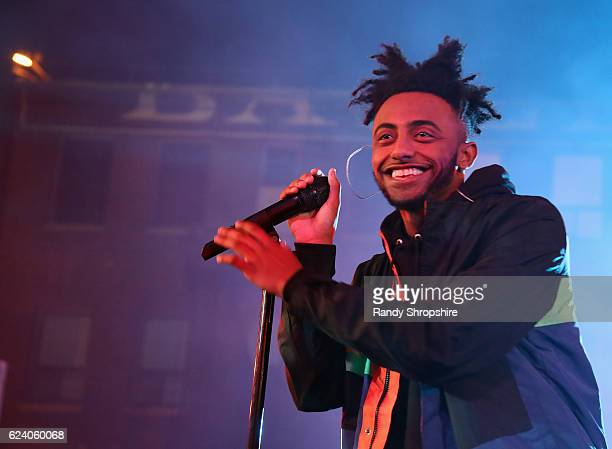 Rapper Amine performs onstage at MTV's Wonderland LIVE Show on November 17 2016 in Los Angeles California