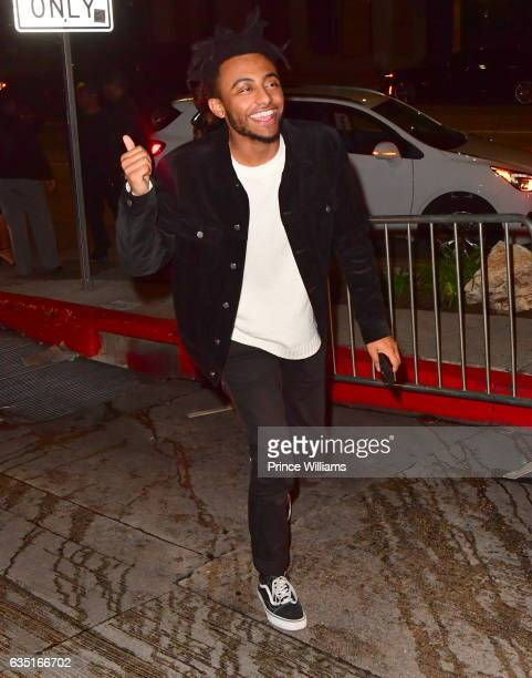 Rapper Amine seen on February 12 2017 in Los Angeles California