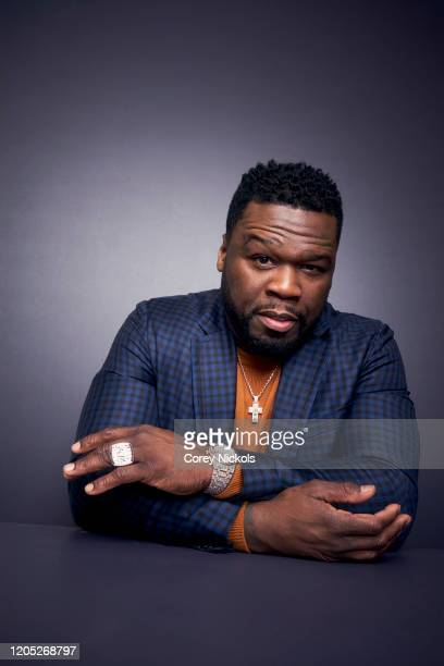 Rapper and actor 50 Cent is photographed for TV Guide magazine on January 8, 2020 in Pasadena, California.
