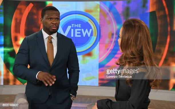 THE VIEW Rapper and actor 50 Cent is the guest today Monday 9/25/17 on ABC's The View The View airs MondayFriday on the ABC Television Network HOSTIN