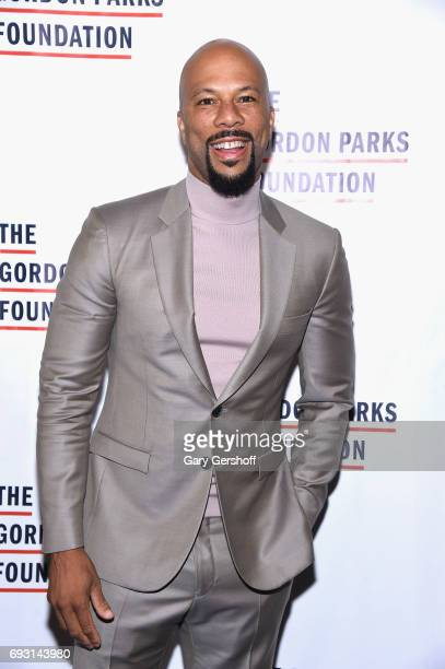 Rapper and actor Common attends the 2017 Gordon Parks Foundation Awards gala at Cipriani 42nd Street on June 6 2017 in New York City