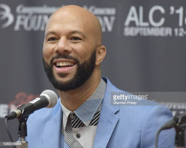 Rapper and actor Common joins castmates from his upcoming motion picture The Hate You Give on the Diversity in the Media Industry State of the Union...