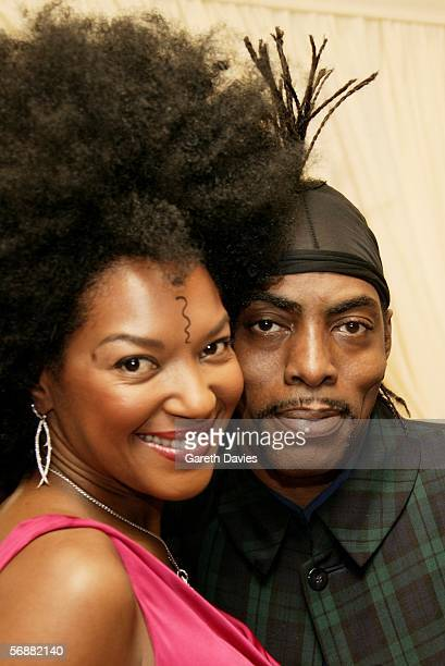 Rapper and actor Coolio and his wife Josefa Salinas attend The London Party hosted by United International Pictures and Variety on the eve of Orange...