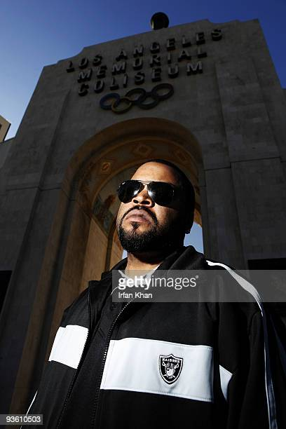 Rapper and actor Ice Cube at a portrait session for Los Angeles Times at the LA Coliseum Published image CREDIT MUST READ Irfan Khan/Los Angeles...