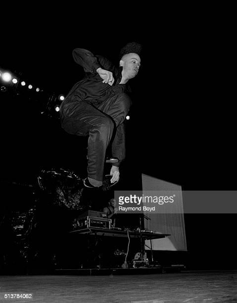 Rapper and actor Kid from Kid 'n Play performs at the Arie Crown Theater in Chicago Illinois in 1990