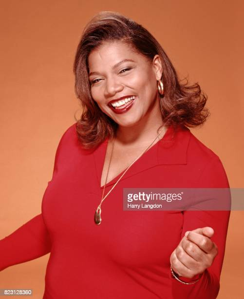 Rapper and actress Queen Latifah poses for a portrait in 1998 in Los Angeles, California.