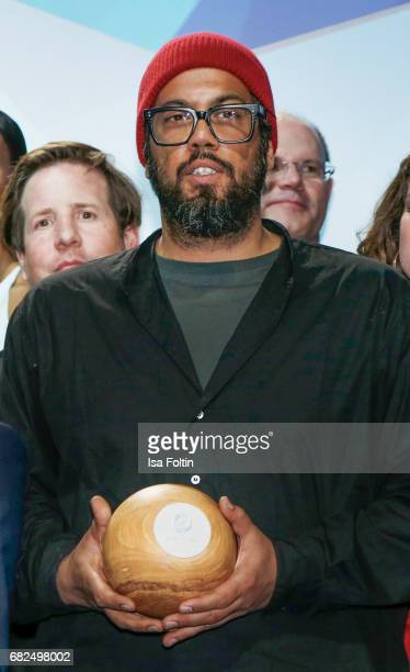 Rapper and award winner Samy Deluxe during the GreenTec Awards Show at ewerk on May 12 2017 in Berlin Germany