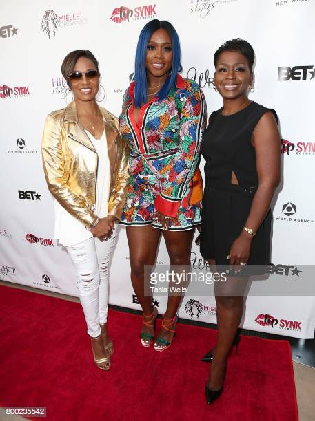 Rapper and Hip Hop Sisters Network founder/chairman MC Lyte rapper Remy Ma and Hip Hop Sisters Network President/CEO and CoFounder Dr Lynn Richardson...