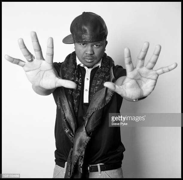 Rapper and producer TheDream at a portrait session for The New Yorker in New York City in 2009 CREDIT MUST READ Steve Pyke/Contour by Getty...