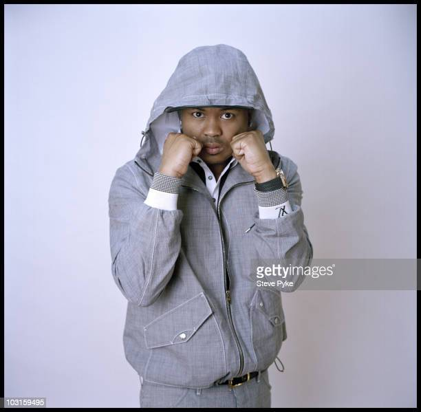 Rapper and producer TheDream at a portrait session for The New Yorker in New York City in 2009 Published image CREDIT MUST READ Steve Pyke/Contour by...