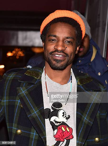 Rapper Andre 3000 of Outkast attends Grammy Nomination Celebration for Kawan 'KP' Prather at 925 Scales on February 8 2016 in Atlanta Georgia