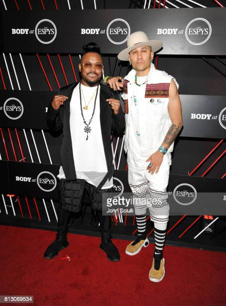 Rapper apldeap and Taboo of Black Eyed Peas at BODY at ESPYS at Avalon on July 11 2017 in Hollywood California