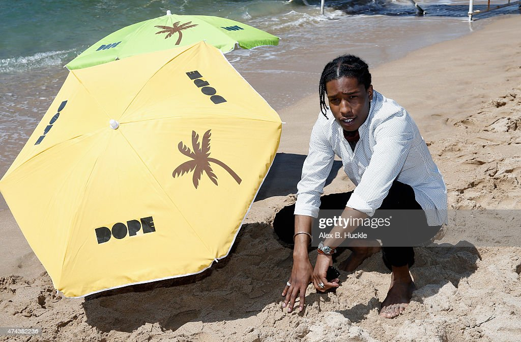 Rapper ASAP Rocky attends a photocall for 'Dope' during the 68th annual Cannes Film Festival on May 22, 2015 in Cannes, France.