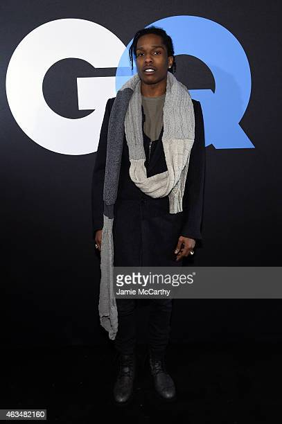 6f12fe9236 Rapper ASAP Rocky attends GQ and LeBron James Celebrate AllStar Style on  February 14 2015 in