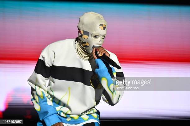 Rapper ASAP Rocky performs onstage during the 923 Real Street Festival at Honda Center on August 11 2019 in Anaheim California