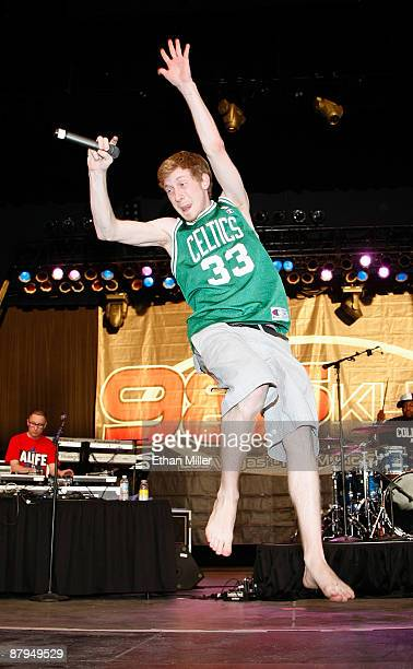 Rapper Asher Roth performs during 985 KLUC's 'Summer Jam 2009' concert at the Henderson Pavilion May 23 2009 in Henderson Nevada