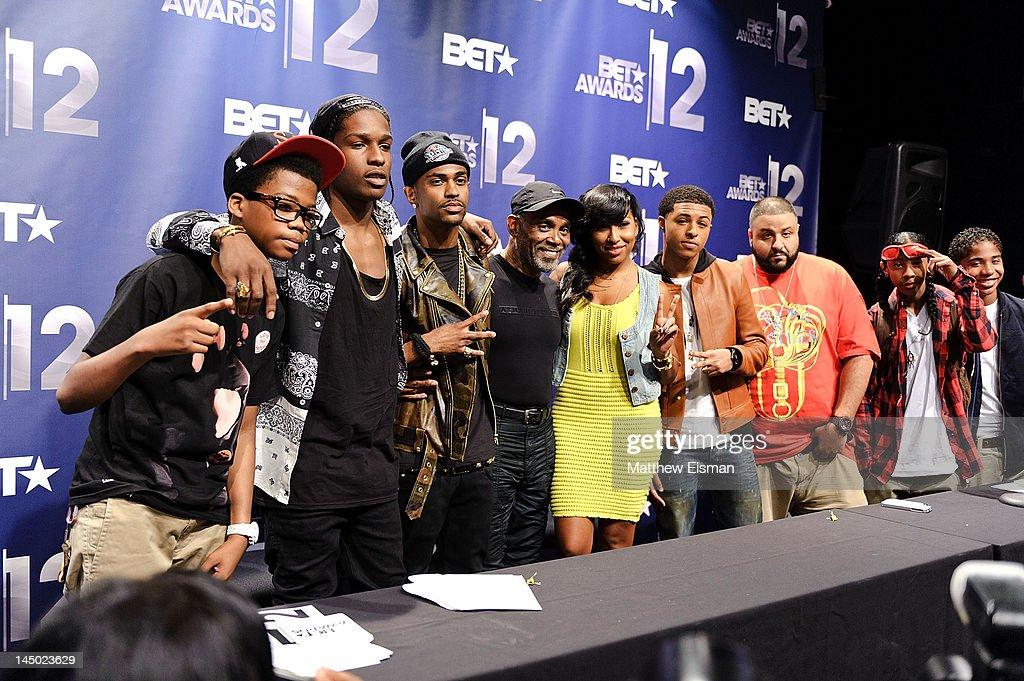 Rapper Astro Kid, rapper ASAP Rocky, rapper Big Sean, R&B